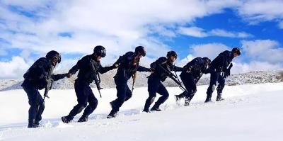 零下25摄氏度!雪地大练兵